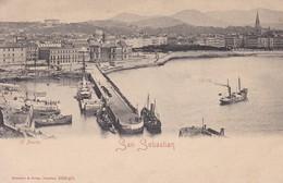 ESPAGNE---SAN SEBASTIAN---el Puerto--voir 2 Scans - Guipúzcoa (San Sebastián)