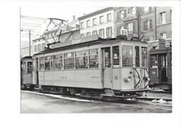 18971 - Bâle Aeschenplatz BEB Tram Be 2/4 14 BVA 1968 (format 10X15) - BS Bâle-Ville