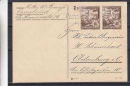 Allemagne - Empire - Carte Postale De 1939 - Oblitération Osnabrück - Fleurs - Chardons - Storia Postale
