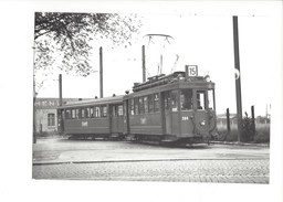 18972 - Bâle St-Louis Frontière Tram Be 2/2 204 BVA 1951 (format 10X15) - BS Bâle-Ville