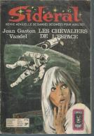 SIDERAL  N° 26 -  J. G. VANDEL   - AREDIT 1973 - Arédit & Artima