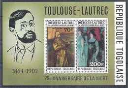 1976 TOGO BF 97** Toulouse-Lautrec, Tableaux - Togo (1960-...)