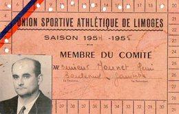 VP6531 - Carte Avec ¨Photo Union Sportive Athlétisme De LIMOGES - Cartes