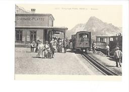 18977 - Chemin De Fer Schynige Platte Au Début Du Siècle BVA Reproduction (format 10X15) - BE Bern