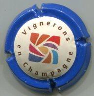 CAPSULE-CHAMPAGNE VIGNERONS En Champagne N°01 Cont. Bleu - Autres