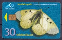 Estland - 1998 - Vlinders  - 2 Scans - Estonia