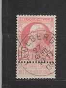 COB 74 Oblitéré LEDEBERG Catalogue 2016 COBA +4 - 1905 Grove Baard