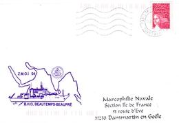 BHO BEAUTEMPS BEAUPRE  ZMOI 04   PARIS INTERARMEES - Marcophilie (Lettres)