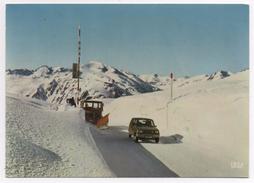 Le Col Du Puymorens En Hiver (chasse-neige Et Voiture) - France