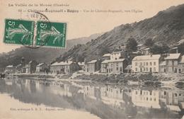 16 / 11 /458  -  CHÂTEAU-REGNAULT  ( 08 )  - VUE  DE  CHÂTEAU  VERS  L'ÉGLISE - France
