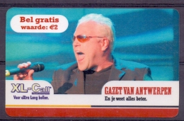 Belgie   - Telecart - Sergio - 2 Scans - Belgien