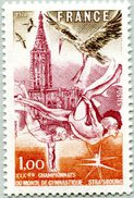 N° Yvert & Tellier 2019 - Timbre De France (1978) - MNH - Strasbourg (Championnat Monde Gymnastique) - Francia