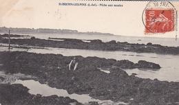 SAINT BREVIN LES PINS PECHE AUX MOULES 1914  VASSELLIER SCANS RECTO VERSO - Saint-Brevin-les-Pins