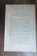 LES ECAILLES D'UNE ANGUILLE GARDEE EN CAPTIVITE A TOULOUSE 1929 - Technical
