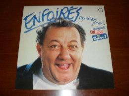 33 T - LP  -  Coluche - Enfoirés - Humour, Cabaret
