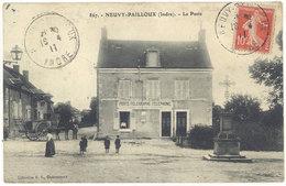 Cpa Neuvy Pailloux - La Poste     ((S.1146)) - Other Municipalities