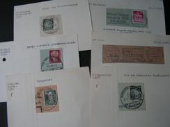 Germany DDR Stempel Lot - Briefmarken
