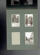CHANTILLY VERS 1932 INAUGURATION MONUMENT JOFFRE LA GARE DE CHANTILLY HOTEL LES TERRASSES MONUMENT AUX MORTS TRIBUNE - Lieux