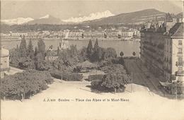 GENEVE -  Place Des Alpes Et Le Mont-blanc  159 - GE Ginevra