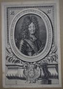 Gravure XVIIème - Portrait De Louis XIII - Estampes & Gravures