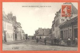 Origny Sainte Benoite - Rue De La Croix - Francia