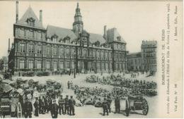 Reims - Arrivée Des Allemands à L' Hôtel De Ville - Reims