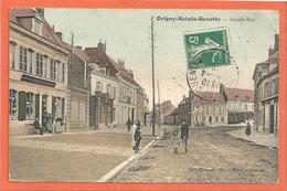 Origny Sainte Benoite -  Grande Rue - Francia