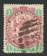 Rhodesia, British South Africa Company, 1 P, 1896, Sc # 27, Used - Great Britain (former Colonies & Protectorates)