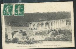 SAINT BENOIT - Viaduc Du Tramway - Ligne De Paris-Bordeaux Et Vue Du Clain  -v Obe2553 - Saint Benoit