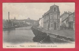 Thuin - La Sambre ( Rive Droite) , Vue Du Pont - Hôtel Du Lion D'Or - 1906 ( Voir Verso ) - Thuin