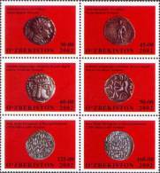 Uzbekistan 2002 Mih. 461/66 Ancient Coins MNH ** - Usbekistan