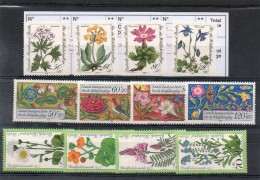 3 Séries  Allemagne Neuf  S/gomme. - Timbres