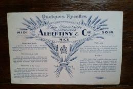 LES PATES ALIMENTAIRES ALBERTINY ET CIE NICE - Food