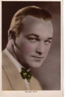 William Boyd.   Picturegoer Colourgraph Series.     (D519)    RPPC. - Actors