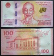 Vietnam Commemorativa 100 Dong FdS 2016 UNC Big Banknote Ho Chi Min - Vietnam