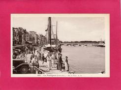 44 LOIRE ATLANTIQUE, LE POULIGUEN, Sur Le Port, Animée, Voitures, (A. Bruel) - Le Pouliguen