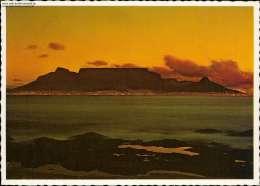 Kapstadt, Bei Nacht, Beleuchtung, Table Bay - Südafrika