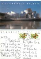 Guggenheim Museum, Bilbao, Spain Postcard Posted 2000 Stamp - Vizcaya (Bilbao)