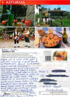 Cider, Asturias, Spain Postcard Posted 2015 Stamp - Asturias (Oviedo)