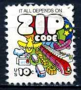 STATI  UNITI - U.S.A. - Year 1973 - Usato - Used. - Stati Uniti