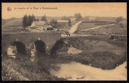 LE MOULIN ET LA ROER A KUCHELSCHEIDT ( Elsenborn ) - Très Beau Avec Attelage - Bütgenbach