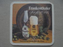 Ancien Sous-bock Bière Frankenthaler Kurfürst Pils Années 60 - Sous-bocks