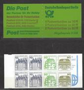 BERLIN MH Mi-Nr. 13 A - Postfrisch - Carnets