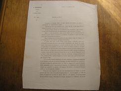 GUERRE DE 1870,Chartres Septembre 1870,En Cas De Village Investit Pat L'ennemis,(593) - Documents