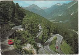 Malojapass: VAUXHALL VIVA HB, OPEL REKORD-B, PEUGEOT 403  - 1815 M. - (Schweiz/Suisse) - Turismo