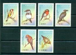 Ghana 1997-Birds Of Africa Set (6v) - Ghana (1957-...)