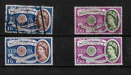 GB 1960 QEII Europa Set Complete LMM And Used (4849) - 1952-.... (Elizabeth II)