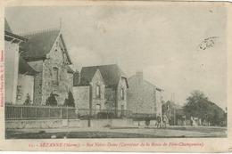 Sezanne - Rue Notre Dame (Carrefour De La Route De Fère Champenoise) - Sezanne