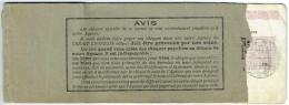 Ancien Carnet De Chèque. Crédit Lyonnais. Joinville-le-Pont. Reste 2 Chèques. 1944. - Chèques & Chèques De Voyage