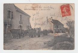 39 - MONTROND / RUE DE LA POSTE - France
